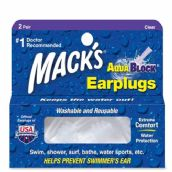 Mack's AquaBlock - Clear - 2 Pair Pack